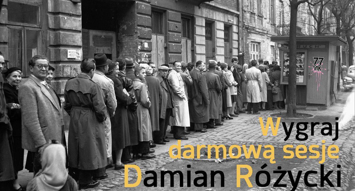 Wygraj darmową sesje do Damiana Różyckiego